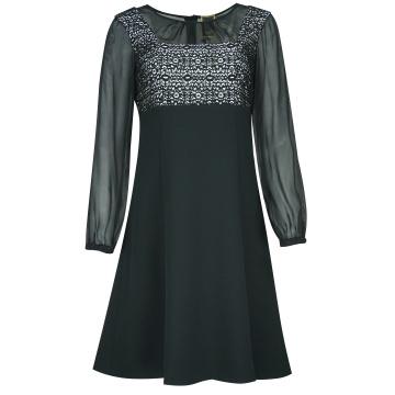 Czarna wizytowa sukienka 5174